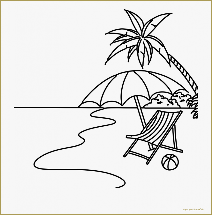 45++ Summer season clipart black and white ideas in 2021