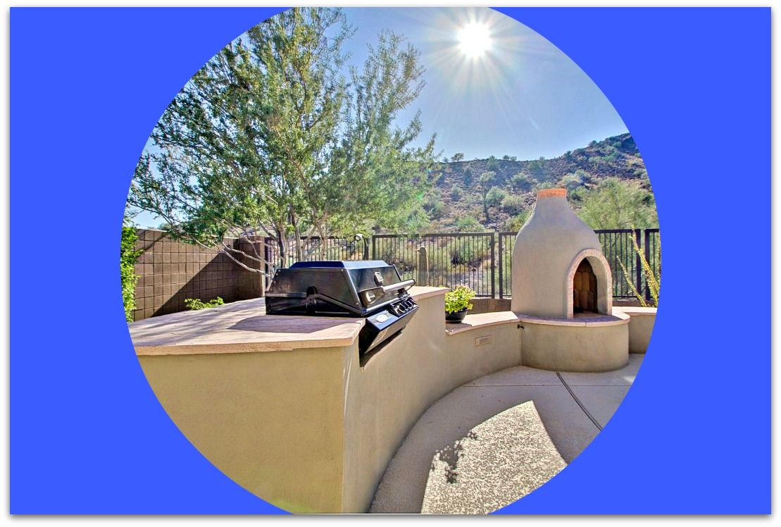 beautiful gated north scottsdale home with a custom beehive