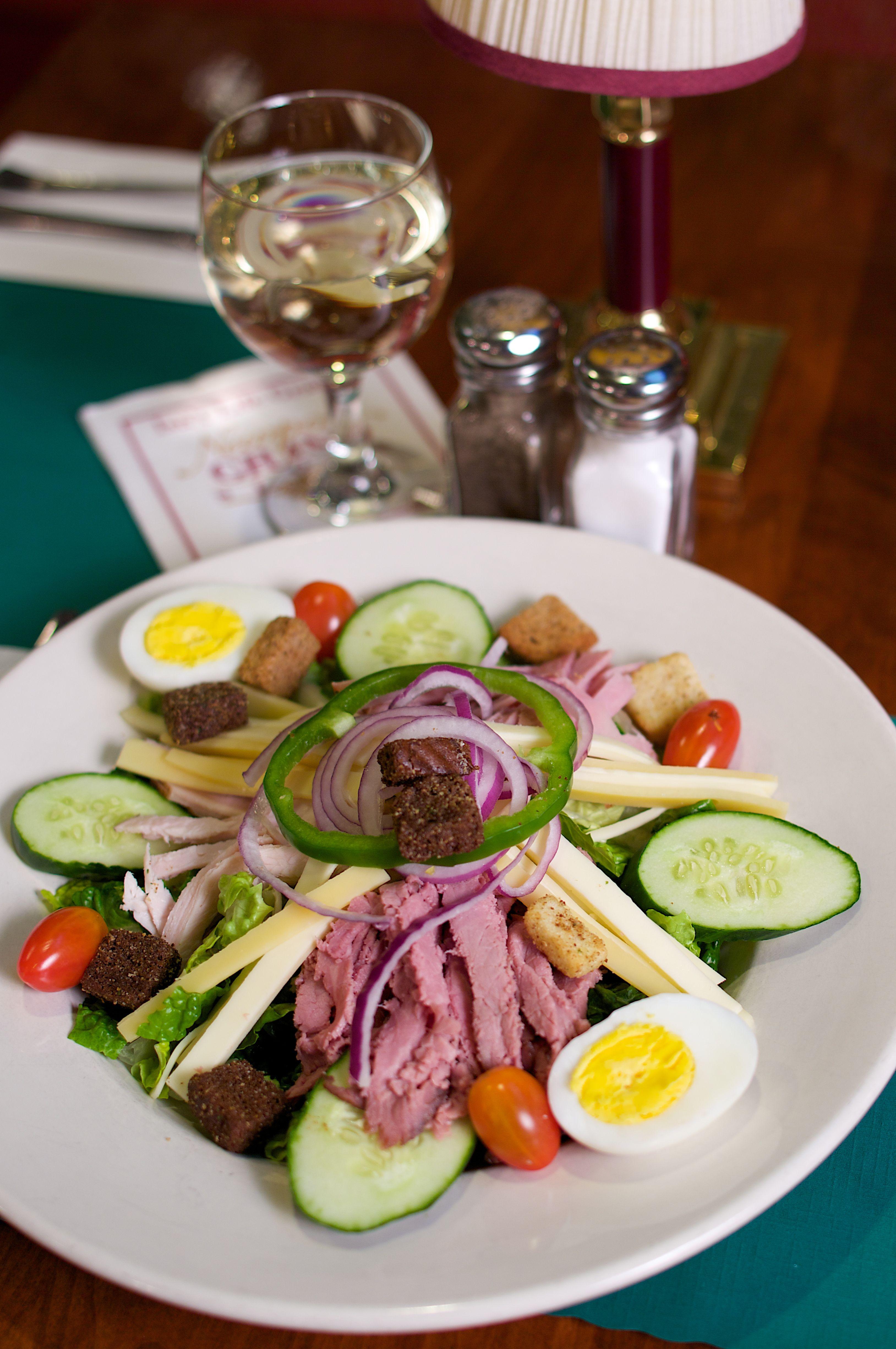 Chef salad on the grand grille menu food chef salad salad