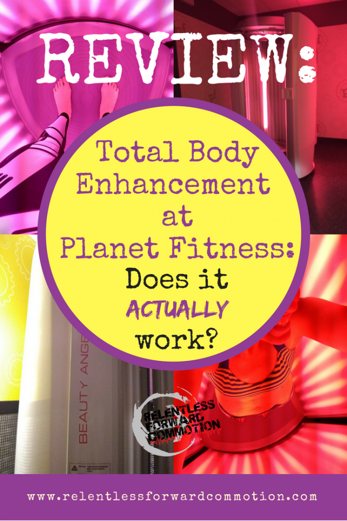 Planet Fitness Red Light Therapy Total Body Transformation