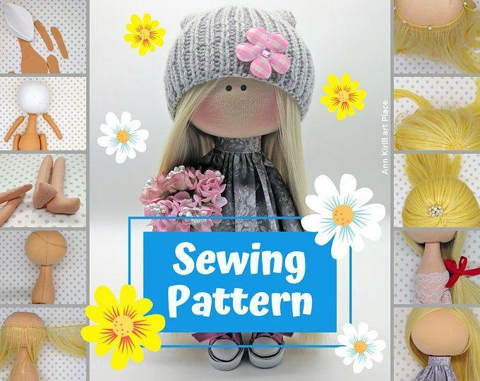 Wardrobe Essentials for Sparkle Starlet Doll - pdf Pattern