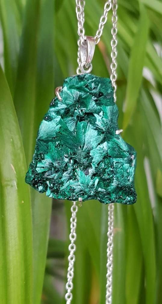 Raw malachite necklace blue green necklace gemstone malachite raw malachite necklace blue green necklace gemstone malachite necklace green jewelry aloadofball Choice Image
