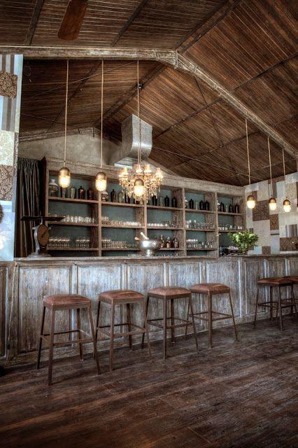 How Fun Is This Restaurant Design Rustic Restaurant Rustic Bar