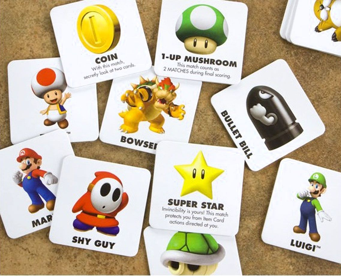 Super Mario Memory Game Molch Flosse
