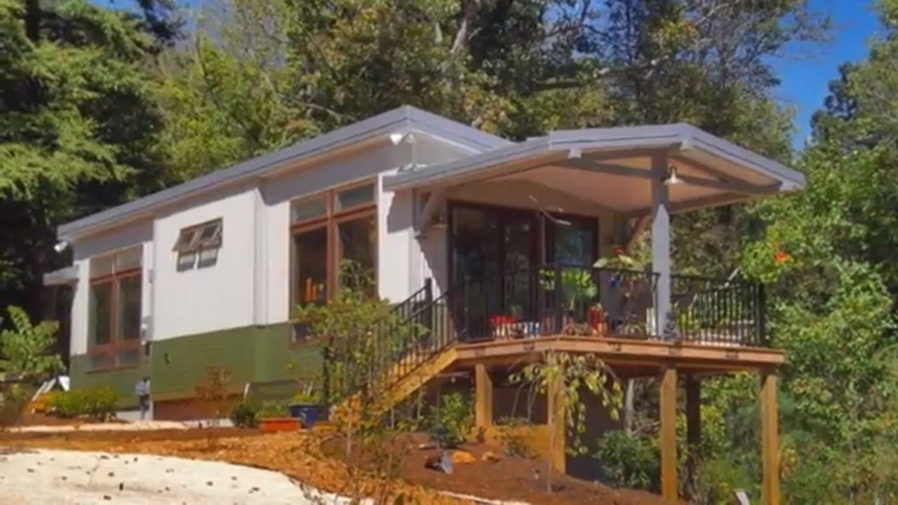 513 Sq Ft Osprey By Eco Cottages Amazing Small House Design Ideas Tiny Cottage Prefab Cottages Tiny House Vacation