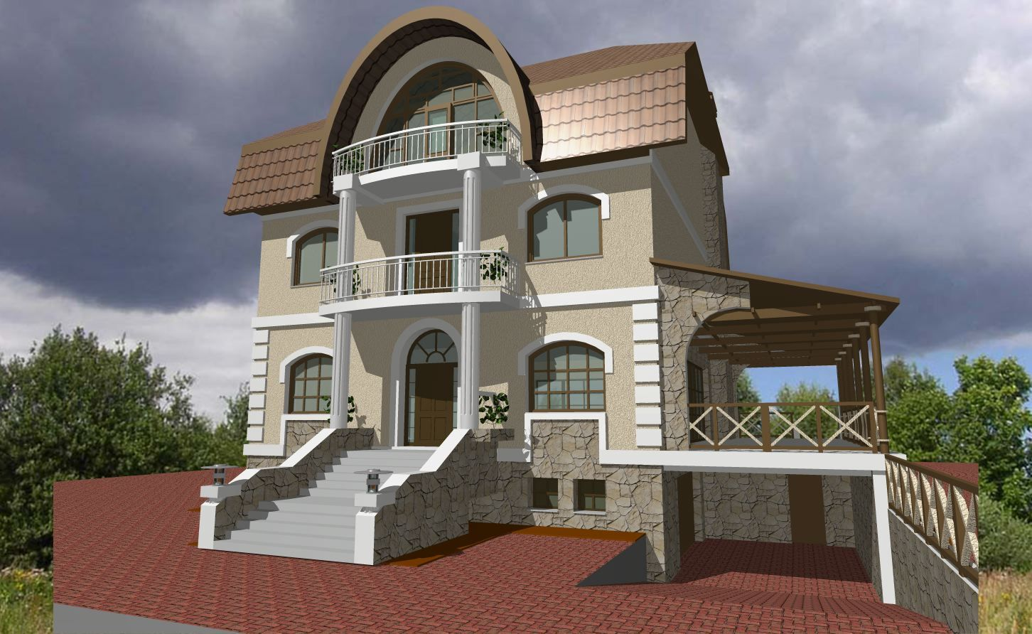 The Cottage Nest House Hunters Village Style Cons Finished   House With  Basement Outside
