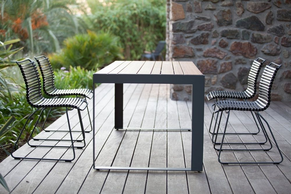Houe Click Dining Stoel Donkergroen Gartenstuhle Armlehnstuhl Und Aussenmobel