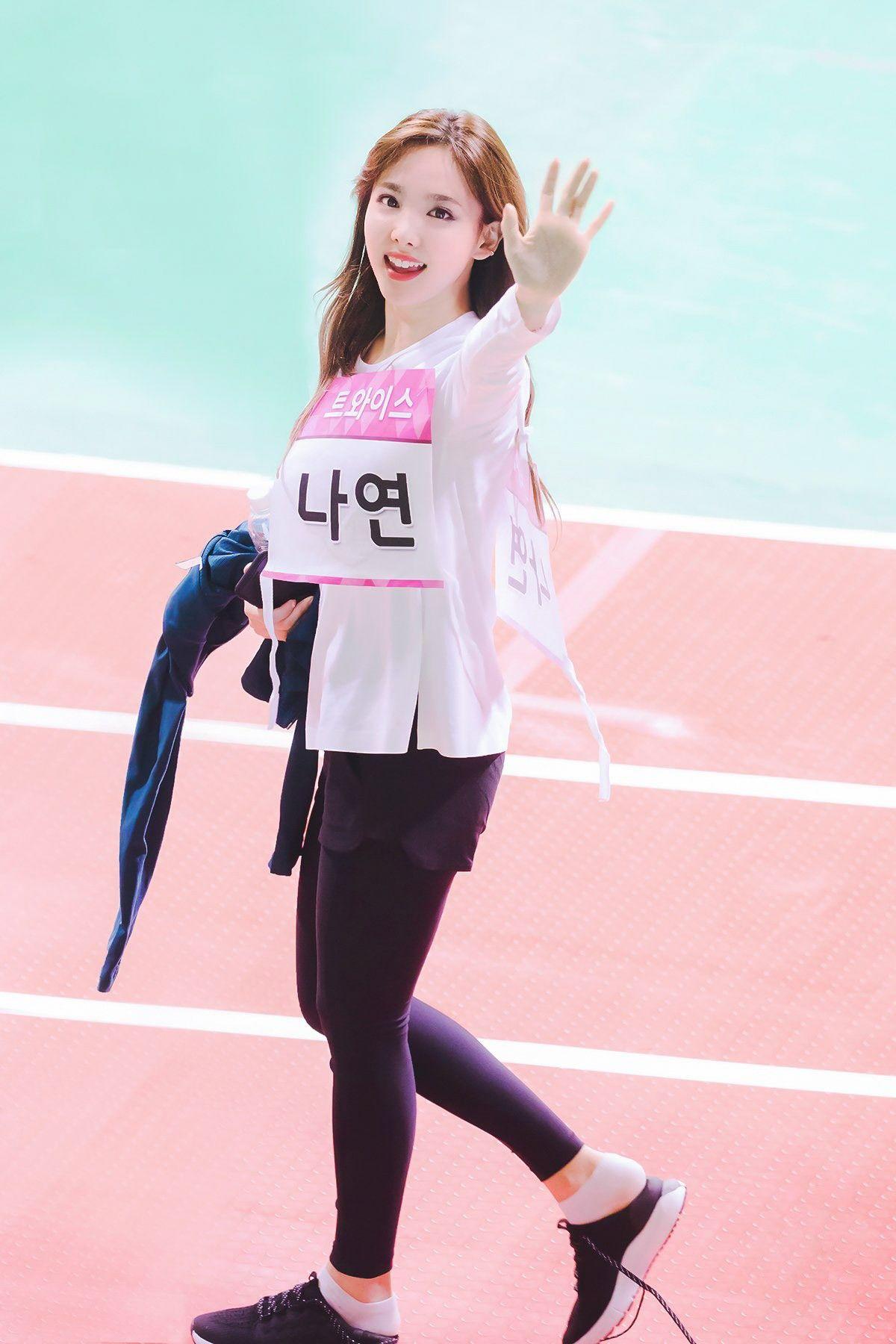 Twice Nayeon Mbc Special Feature 2018 Idol Star Athletics Nayeon Nayeon Twice Female