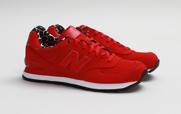 tenis new balance feminiño vermelho
