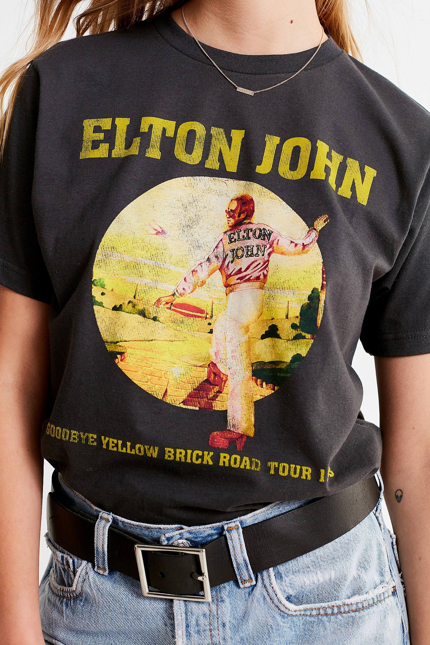 Elton John Farewell Tour Shirt Womens Crew Neck Shirt Elton John Shirt