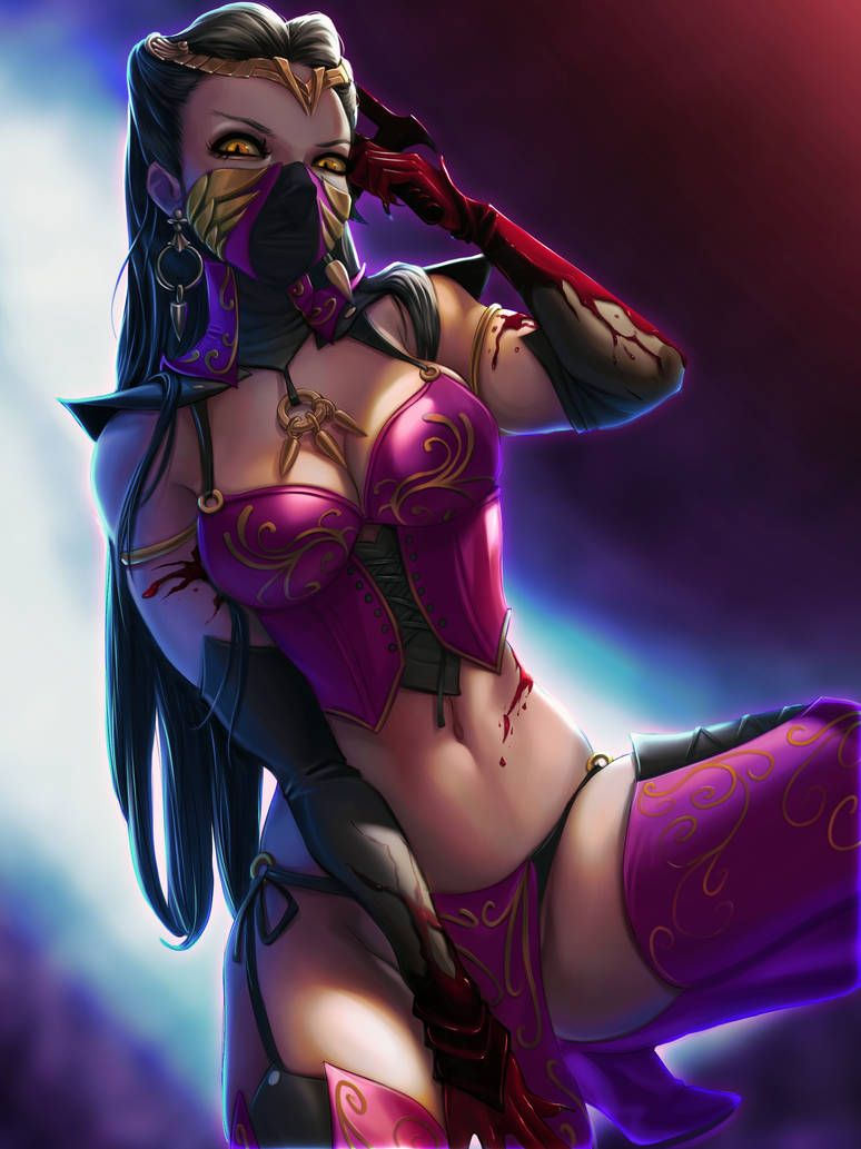 Queen Mileena By Pretty Cool Huh Mortal Kombat Mortal Kombat