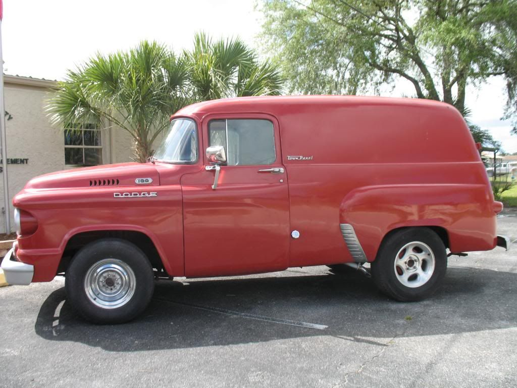 Truck 1963 chevy panel truck for sale : FOR SALE 1959 Dodge Town Panel Truck D100 Would be great for ...