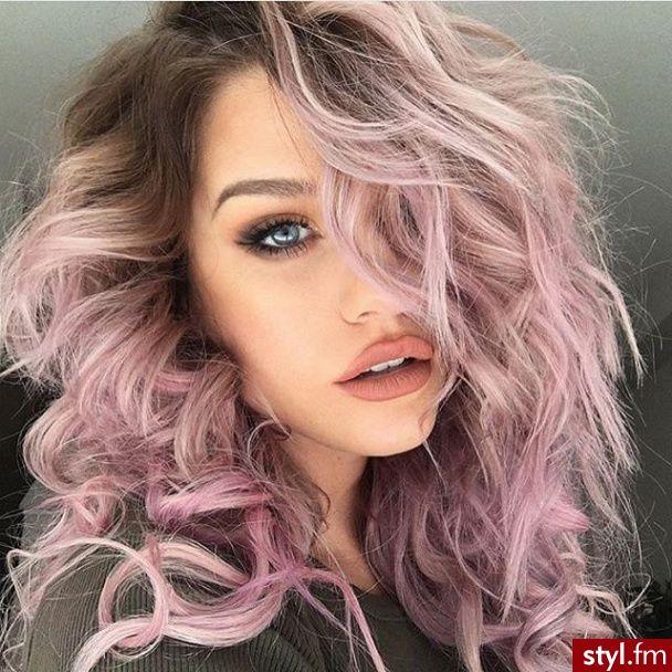 Imagem de hair, makeup, and pink