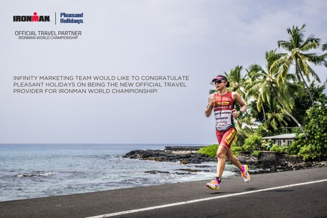 Infinity Marketing Team would like to congratulate our client Pleasant Holidays on being the new official travel provider for Ironman World Championship!