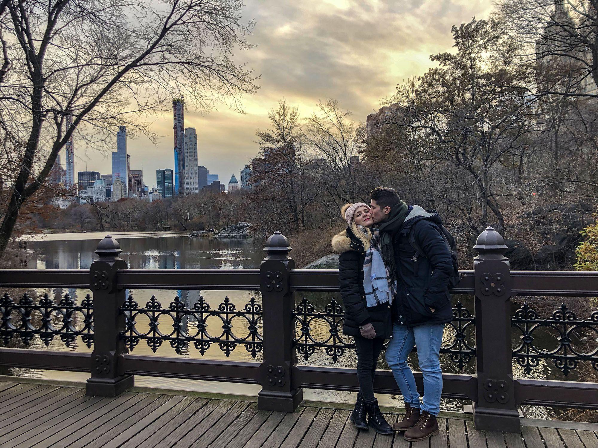 Oak Bridge, Central Park