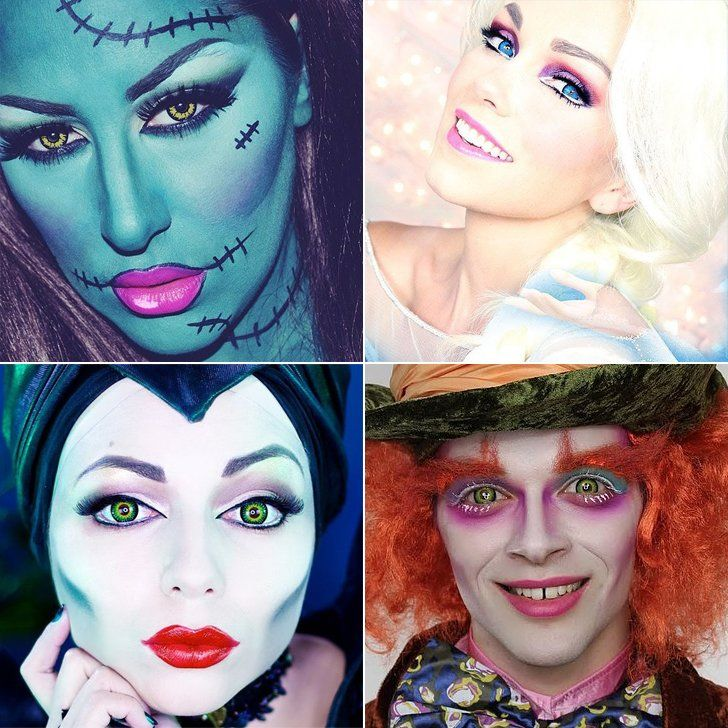 Best Halloween Tutorial Makeup Pictures - harrop.us - harrop.us
