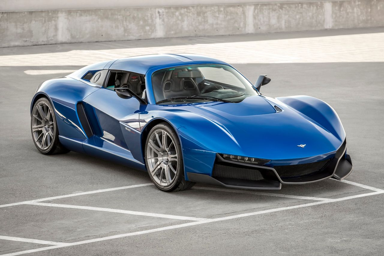 Rezvani S New 200 000 Beast Alpha Has Funky Sidewinder Doors And