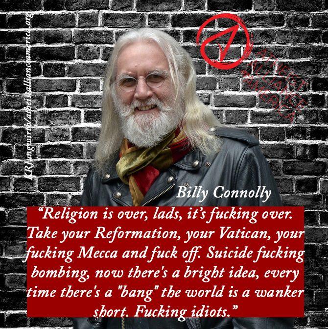 #BillyConnolly #BoondockSaints #Atheism