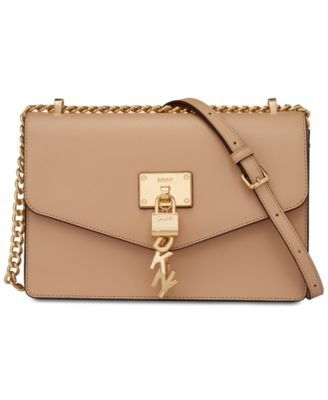 58b3cd03d Elissa Leather Chain Strap Shoulder Bag, Created for Macy's in 2019 ...