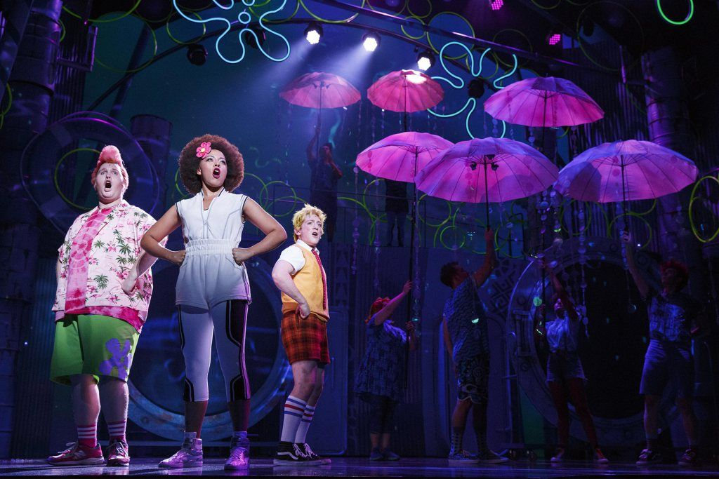 'SpongeBob SquarePants' Musical Sets Broadway Opening Date