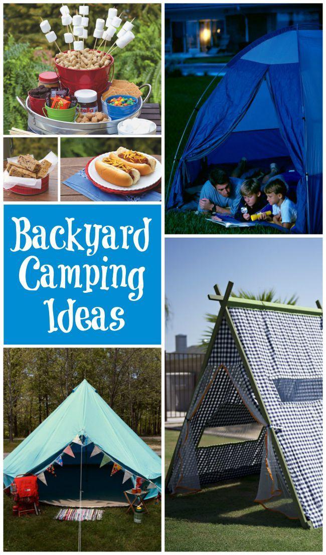 Backyard Camping | DIY Ideas | Pinterest | Backyard ...