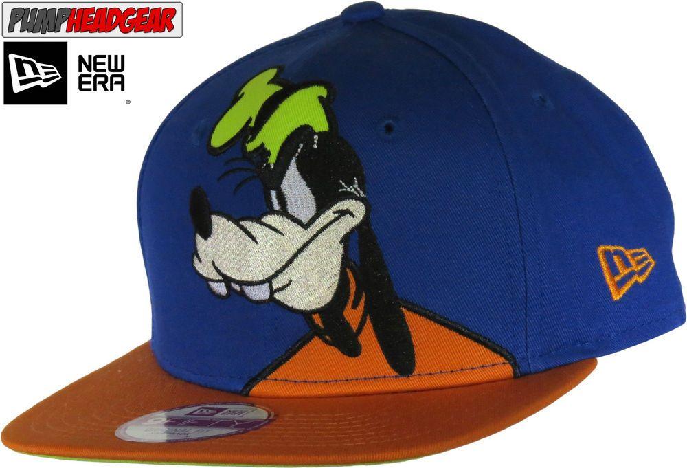 Goofy 950 Disney Over Logo New Era Snapback Cap  03c6539dad89