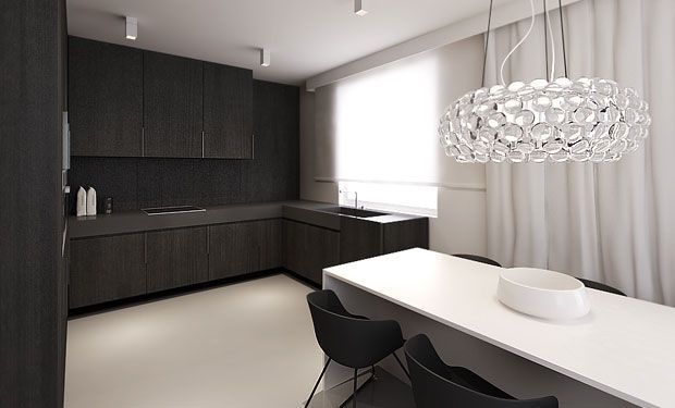 tamizo architects group flat interior design lodz home Pinterest