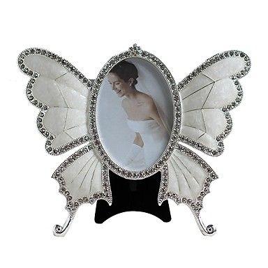Diamond Butterfly-Shaped Metal Photo Frame http://mxpi.co.nf/?item=1703919
