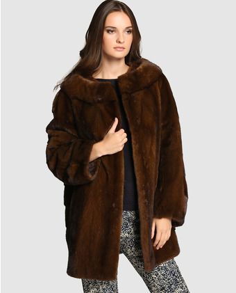 De Y Wear Pinterest Fur Visón Mujer Abrigos Abrigo Women FS7qH