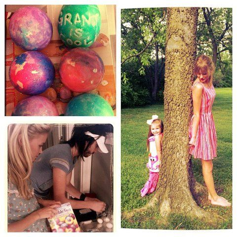Easter-ness with Auntie Taylor