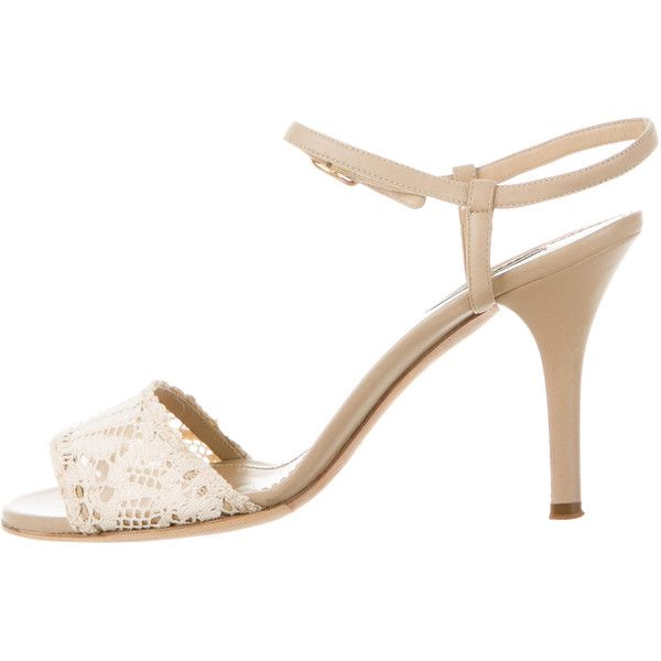 Pre-owned - Leather sandals Dolce & Gabbana 5UJ7dz0