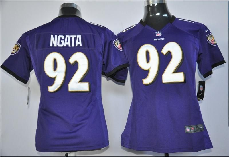 aa0a20760 Womens Nike NFL Jerseys Baltimore Ravens Haloti Ngata  92 Purple ,WHOLESALE  NFL Baltimore Ravens Womens Nike JERSEYS,cheap Womens Nike NFL Jerseys ...