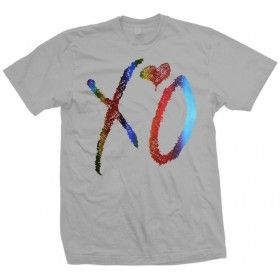 XO The Weeknd Drake Special Edition Rainbow Foil T Shirt
