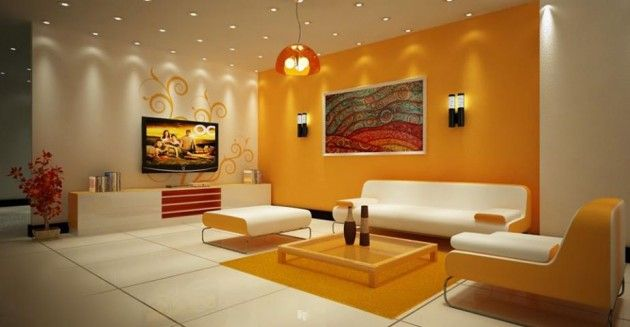 Interior Paint Design Ideas For Living Rooms 20 Gorgeous Colorful Living Room Design Ideas  Also Paint One