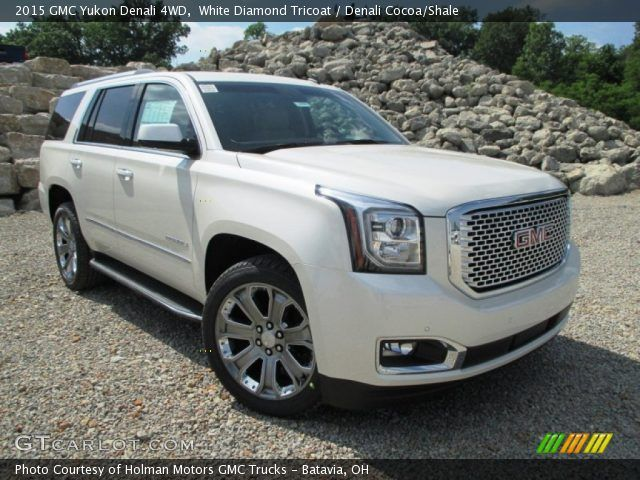 2015 Gmc Yukon White Diamond Tri Coat Google Search Gmc Yukon