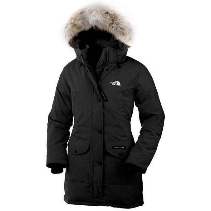 North face women's long coats on sale