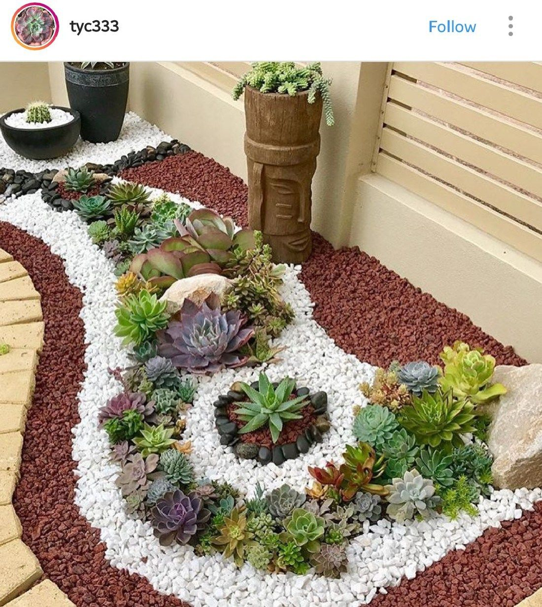 Amazing Succulent Front Yard Landscaping Ideas And