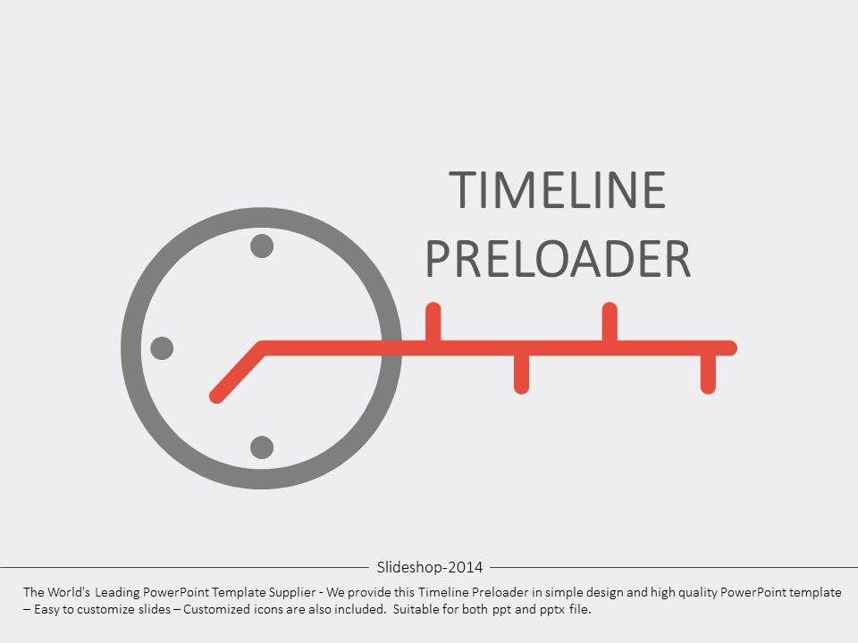 HereS A Set Of Templates With Timeline Preloader Illustrations