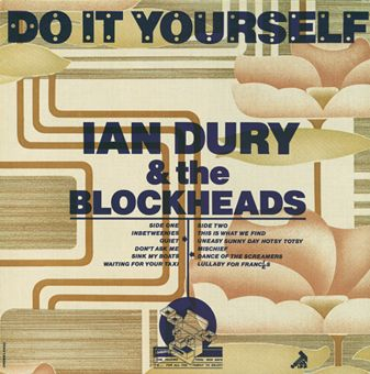 Ian dury the blockheads do it yourself cover design by barney ian dury the blockheads do it yourself cover design by barney bubbles solutioingenieria Choice Image