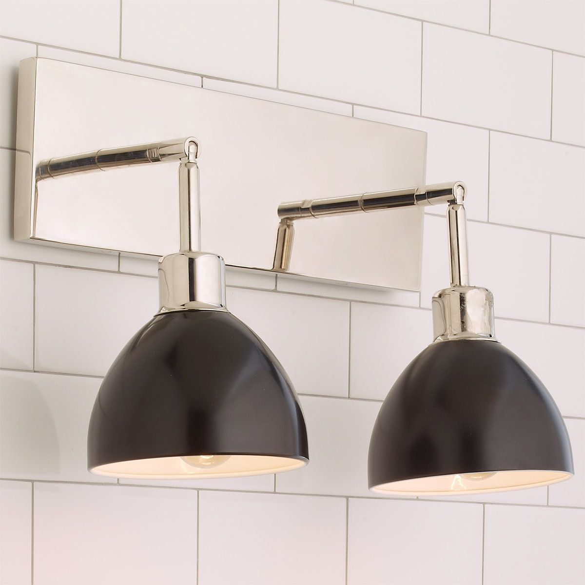 Check out Young House Love Dapper Bath Light 2-Light from Shades of Light & Check out Young House Love Dapper Bath Light 2-Light from Shades of ...