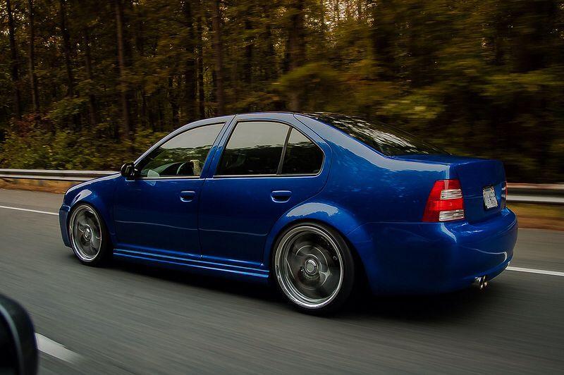 Blue Mk4 Jetta Mk4