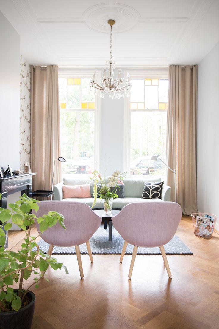 lange gordijnen! visgraat vloer! | decor | Pinterest | Leiden ...