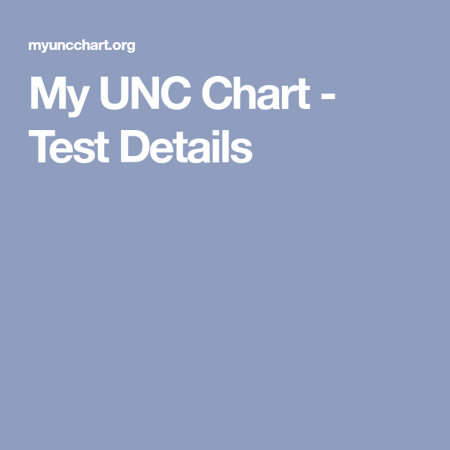 Explore these ideas and more! My UNC Chart ...