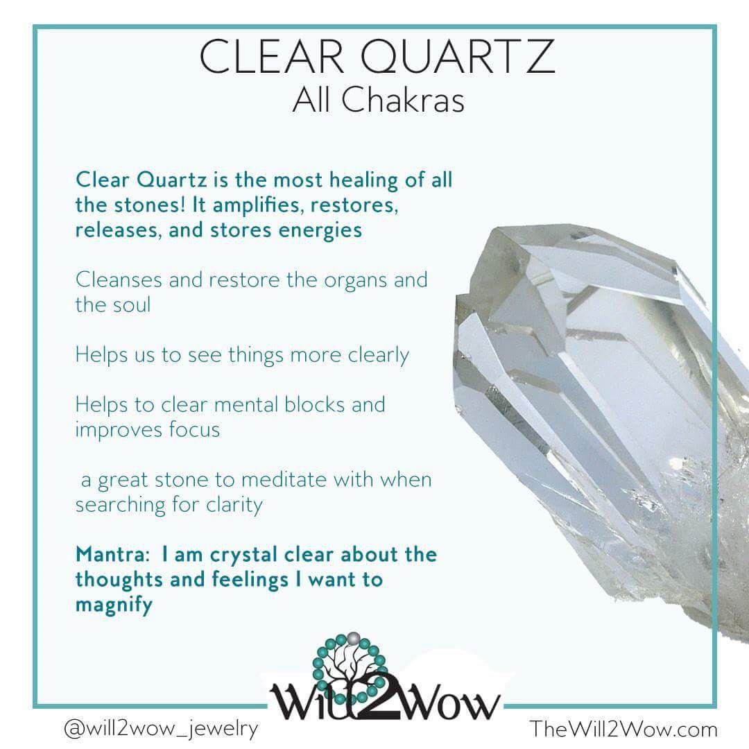 Clear Quartz, the master healing crystal   Crystals ... Quartz Crystal Spiritual Meaning