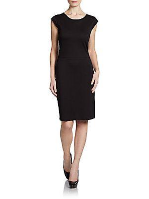 Lace-Back Shift Dress