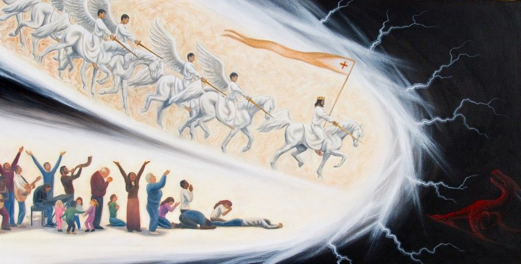 The Army of The Lord Advancing, Spiritual Warfare image   Spiritual warfare, Prophetic art, Spirituality