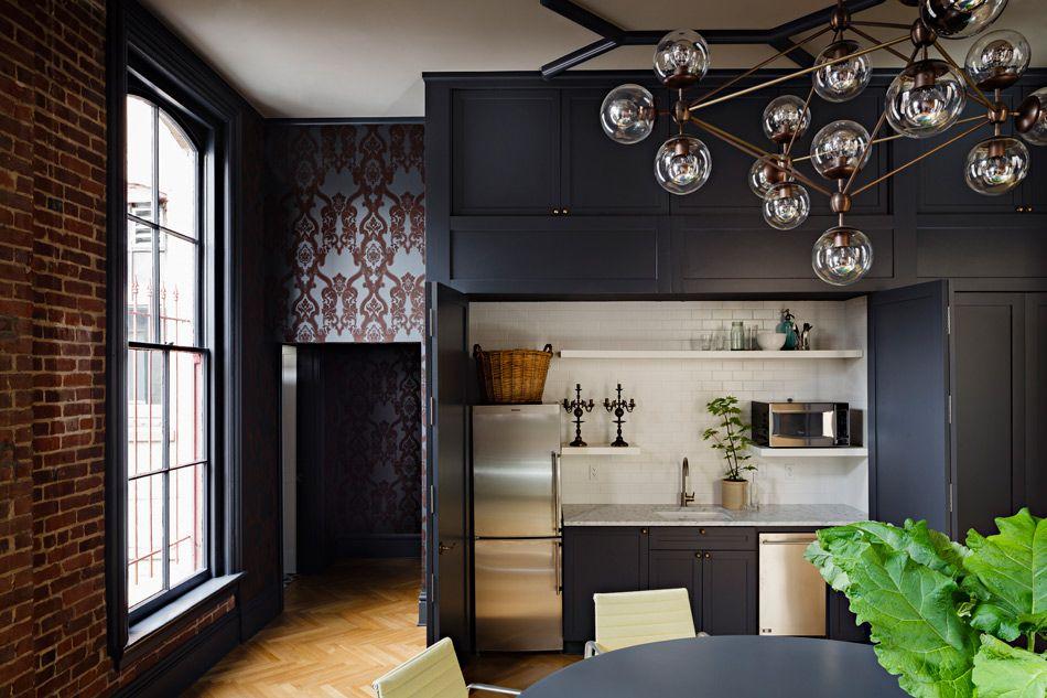 Gothic Office Jessica Helgerson Interior Design Interior Loft Interiors Interior Design