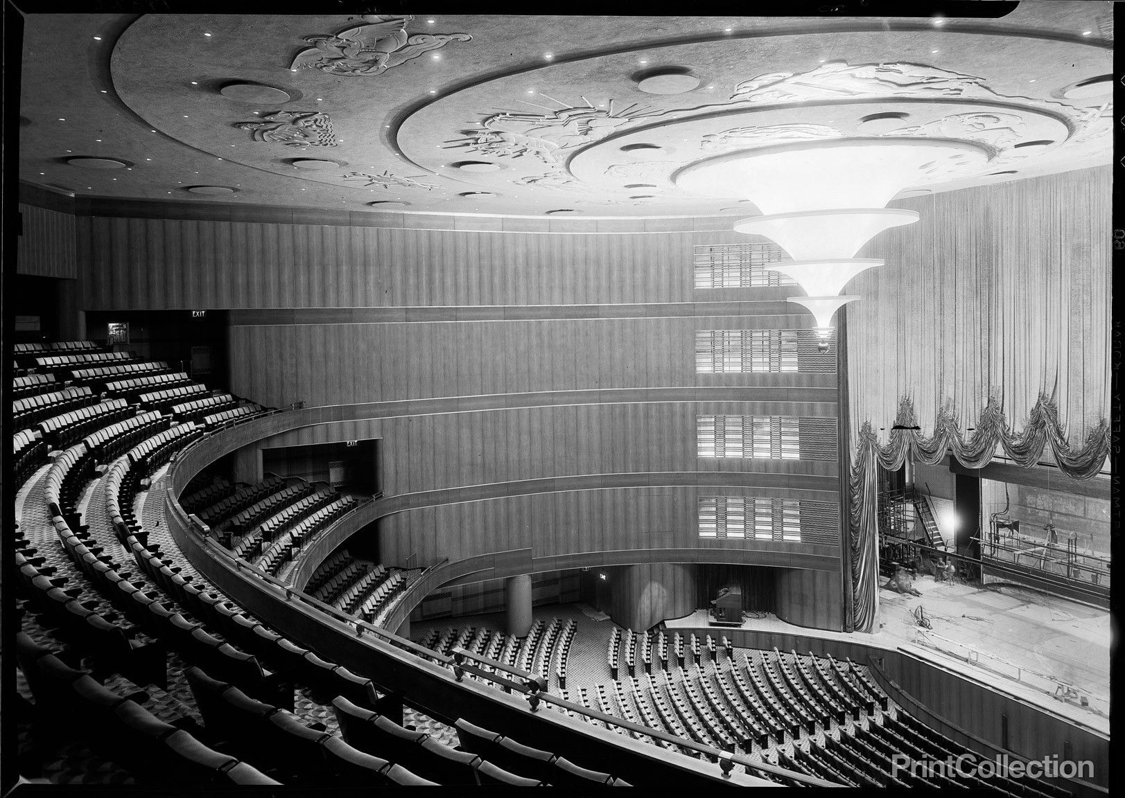 Print Collection Roxy Theatre 49th Street New York N Y Roxy Theater City Art Movie Theater