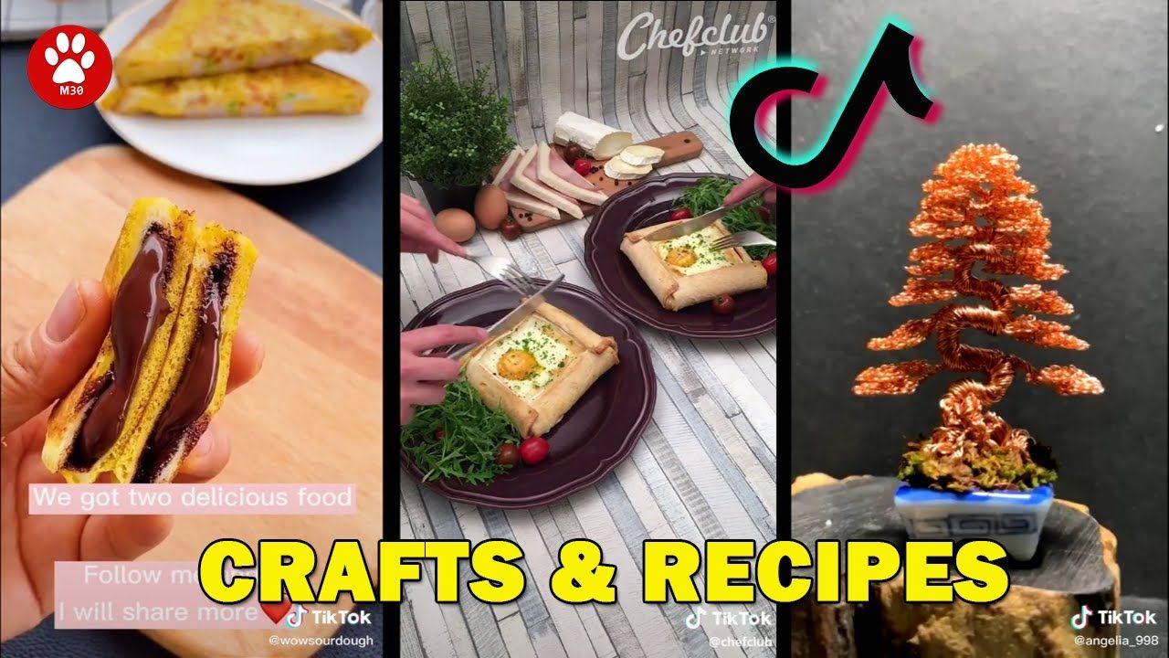 Funny Tiktok Creation Crafts And Recipes Compilation Tiktok Diy Cute G Creation Crafts Yummy Food Recipes