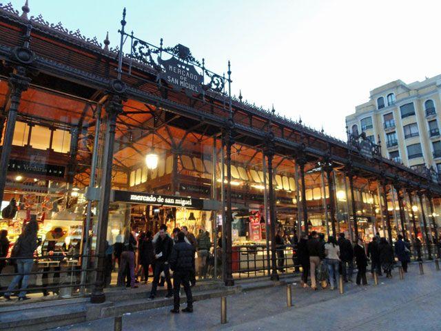Mercado De San Miguel Mercado San Miguel Madrid Spain Madrid